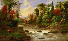 """high quality 36x24 oil painting handpainted on canvas """"landscape""""@NO48"""