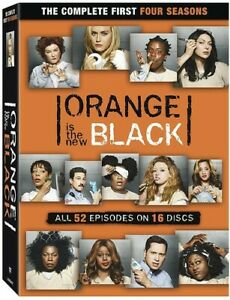 Orange Is the New Black: The Complete First Four Seasons [New DVD] Boxed Set