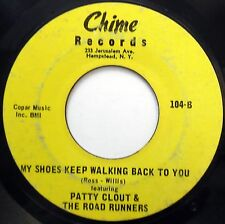 PATTY CLOUT & ROAD RUNNERS 45 My Shoes Keep / Tears In My OBSCURE Country w1242