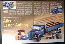 ' 51 MERCEDES-BENZ L 6600 camions en 1-18 de MINICHAMPS... un modèle de rapport #2003