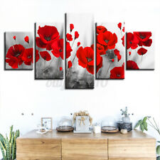 5PCS Unframed Picture Canvas Art Print Painting Living Room Wall Art Home Decor