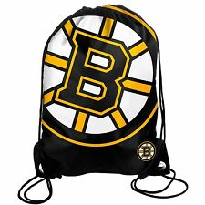 Boston Bruins Drawstring Back Pack/Sack Gym Bag Tote NHL New backpack BIG LOGO
