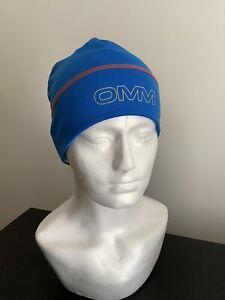 OMM Meridian Running Ultra Race Fitness Beanie Hat Blue