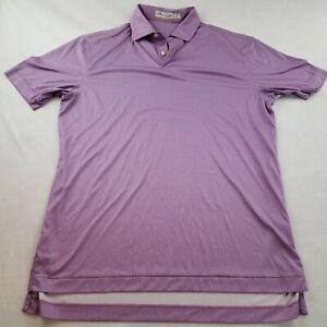 Peter Millar Featherweight Polo Purple Men S