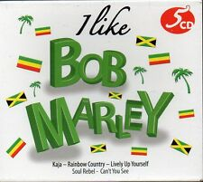 I LIKE BOB MARLEY - BOX 5 CD (NUOVO SIGILLATO)
