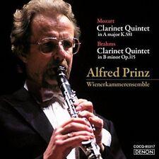 ALFRED PRINZ.WIENER KAMMERENSEMBLE-CLARINET QUINTET: MOZART...-JAPAN HQCD C94