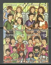 PHILIPPINES 2019 CHRISTMAS BLOCK COMP. SET OF 4 STAMPS MINT MNH UNUSED CONDITION