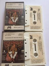 Masters Of British Rock Paper Label Double Cassette Fleetwood Mac Savoy Brown Et