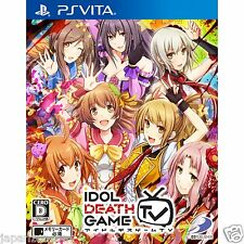 Idol Death Game TV PS Vita SONY JAPANESE NEW JAPANZON