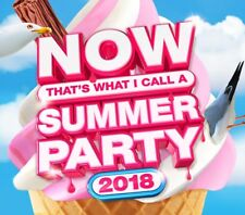 Now Thats What I Call a Summer Party 2018 3cd Set Various Artists