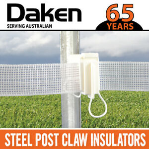 Daken 40MM Electric Fence Tape - 100 Meter Roll stainless steel wires AU MADE