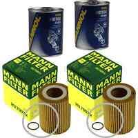 2x Original MANN Ölfilter HU 7003 x + 2x SCT Motor Flush Motorspülung