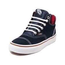 Vans Youth Boys Era Hi (MTE) Sneakers Navy/Plaid 2 New