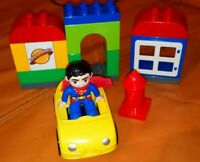 LEGO DUPLO 10543 SUPERMAN RESCUE COMPLETE LOVELY CONDITION DAILY PLANET
