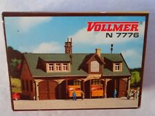 VOLLMER # 7776  Garage  Road Maintenance Depot  N Scale  MIB