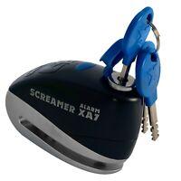 Motorcycle Alarm Disc Lock  Oxford Screamer XA7 Black/Silver LK279