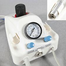 Dentale portatile turbina ad aria lavoro Unità W/ Pedal Bottle 4Hole Tube