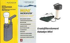 Katadyn Ersatzfilterkeramik Wasserfilter Katadyn Mini Ersatzfilterelement