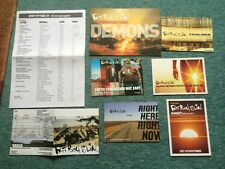 FAT BOY SLIM - Various- PROMO POSTCARD FLYERs Skint Records RARE