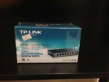 TP-Link TL-SG108 Switch per Desktop 8 Porte 1000 Mbps - Nero METALLO