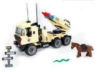 Military Rocket Launcher Truck & Horse Custom Lego Set