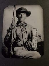 Sixth-Plate Civil War Confederate Soldier Tintype C2489RP