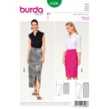 Burda Sewing Pattern 6506 Style Misses' Pencil Skirt with Slit