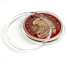 """1 3/4"""" Challenge Coin Capsule Clear Case"""