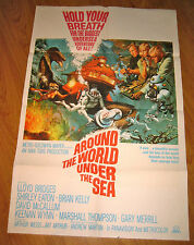 Around the World Under the Sea Orig, 1sh Movie Poster '66 Lloyd Bridges,