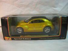 Concept Version CHRYSLER Pronto Cruizer in Yellow 118 Scale Diecast Maisto Dc189