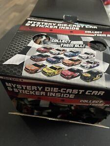 NASCAR Authentics 1 Random Wave 4 Mystery Bag 1:87 Diecast Car & Sticker New NIP
