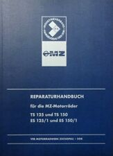 Reparaturhandbuch reparaturanleitung MZ-Motorräder DDR TS 125 150, ES 125/150/1