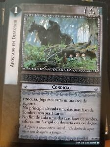Lord of the Rings TCG Fellowship 1R206 Bent on Discovery PORTUGUESE CCG LOTR