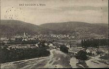 Bad Sooden-Allendorf Hessen AK 1913 Fluß Werra Brücke Fachwerkhäuser Fachwerk