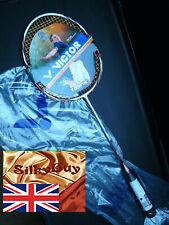 Victor Atomos 500 2U/G3 Racquet + UPGRADES A/W Zymax 66 Fire Power @22 lbs, +PVC