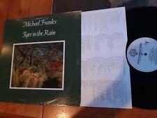 Michael Franks, Tiger In The Rain, Vinyl, LP Warner Bros, BSK-3294 w/Lyric Inner