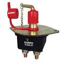 Durite - COUPE-BATTERIE 250 AMP Double pôles avec amovible Clé BG1 - 0-605-51