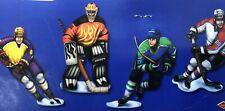 New listing Hockey 2 Sided Cutouts Decorations Party Room Decorations New Sealed (Lot Of 6)