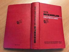 Guide Michelin Deutschland 1978