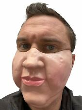Fat Face Mask Funny Big Head Chubby Cheeks Costume Accessory Stag Hen Joke Adult
