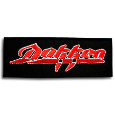 Dokken Patch Iron On Music Logo Heavy Metal Band Rock Sew Badge Biker Jacket MC
