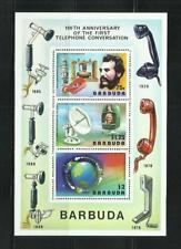 Barbuda. year: 1977. theme: Centenary of the first phone line.
