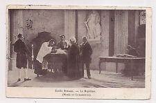 musée du luxembourg , émile renard , le baptême