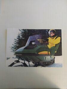 John Deere Spitfire Snowmobile Poster