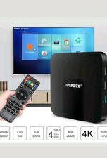 OPENBOX VX IPTV ANDROID 7.1 4K BOX with 12 MONTHS PREMIUM Gift Warranty