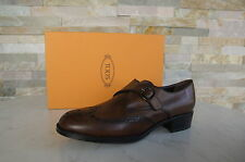 Tods Tod´s Taille 39,5 Mocassins Chaussures Basses Femme Richelieu cacao neuf