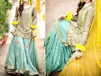 Pakistani Maria B Designer Suit Wedding Dress EID Collection shalwar Kameez 2020