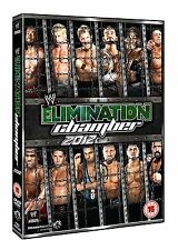 WWE No Way Out (Elimination Chamber) 2012 Orig DVD WWF Wrestling