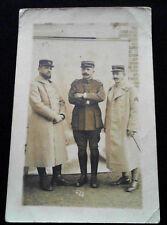 Carte photo 1914-1918 Officiers 123° Régiment d'Infanterie WW1 French postcard