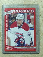 13-14 OPC O-PEE-CHEE Marquee Rookie RC Red Border SP #579 NATHAN BEAULIEU